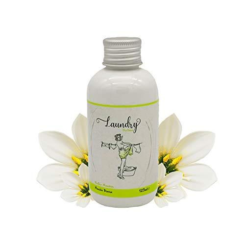 Parfüm für die Waschmaschine, Duft für die Waschmaschine, 125 ml, Wäscheduft, Wäscheparfüm (Weißer Moschus)