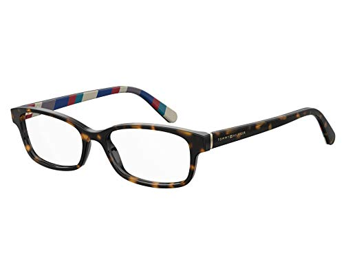 Tommy Hilfiger Brille (TH-1685 086) Acetate Kunststoff havana dunkel