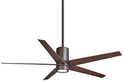 Minka-Aire F828-ORB Symbio 56 Inch Ceiling Fan with Integrated LED Light and DC Motor in Oil Rubbed Bronze Finish