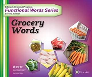 Proed Edmark Reading Program Functional Words Series – Second Edition: Grocery Words, Complete Kit