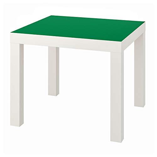 IKEA LACK tavolino 55x45 cm bianco/verde