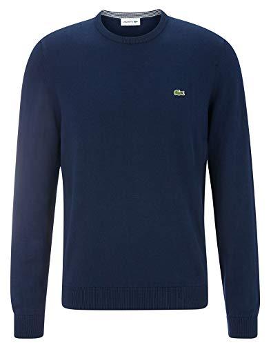 Lacoste Herren Ah7004 Pullover, Blau (Marine/Marine-Farine 6dp), XX-Large (Herstellergröße: 7)