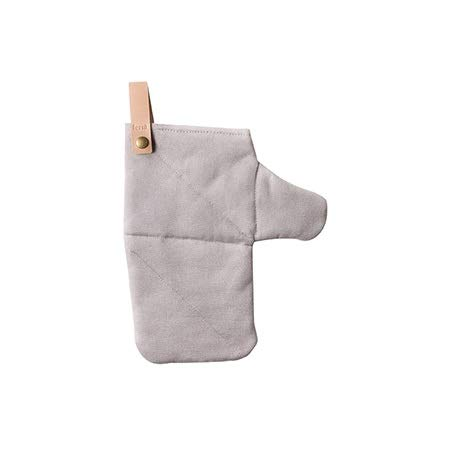 Ywlanlantrading Handschuh Verbrühschutzhandschuhe, Rutschfest, Baumwolle, isoliert, Ofen, Backen, Haushalt, Verbrühschutzhandschuhe (Color : Gray, Size : L-Five Pair)