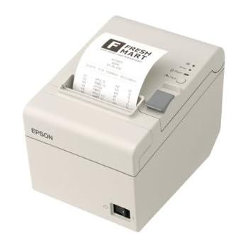 旧モデル エプソン サーマルレシートプリンター/80mm・58mm(紙幅可変)/USB/ホワイト/電源本体内蔵 TM-T20U131