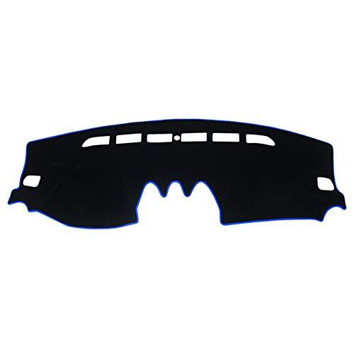 HAZYJT Auto Armaturenbrett Abdeckung Armaturenbrett Matte Sun Shade Pad Instrume Panel Teppiche Zubehör Passt Für Suzuki Vitara LY 2015 2016 2017 2018 2019 2020,Blau