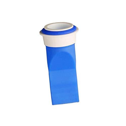 Cabilock Válvula de Drenaje de Piso Válvula de Drenaje de Piso Núcleo de Alcantarilla Dispositivo de Sellado de Trampa de Insectos Antiolor para Home Hotel Azul