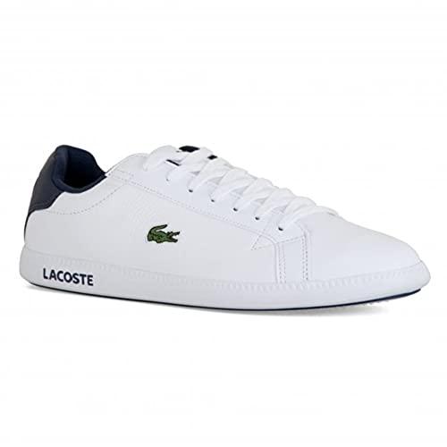 Lacoste Graduate 0721 1 SUC, Zapatillas, Wht/Nvy, 29 EU