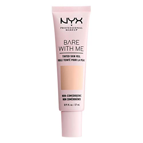 NYX PROFESSIONAL MAKEUP Bare With Me Tinted Skin Veil - Pale Light (Ivory With Cool Undertone)