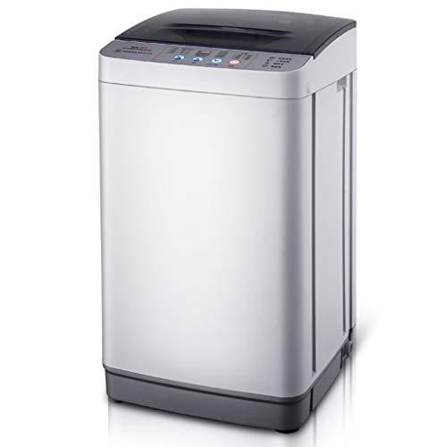 XXXCCC mini-wasmachine, kleine draagbare wasmachine, volautomatisch, 4,8 kg / 10,5 lbs wascapaciteit enkele tube met afvoermand, huishoudcompartiment [energieklasse A +]