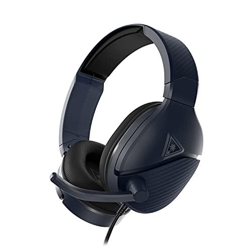 Turtle Beach Recon 200 Gen 2 Bleu nuit Casque Gaming avec amplificateur - PS5, PS4, Xbox Series X|S, Xbox One, Nintendo Switch und PC