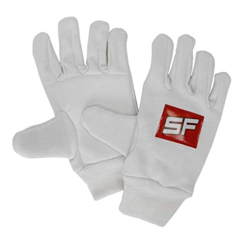 SF Cotton Foam Padded Wicket Keeping Inner Gloves, Youth