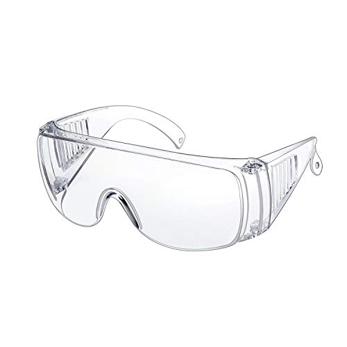 WOOLIKE Safety Goggles Industrial Goggles with Anti-fog Lens FA-04...