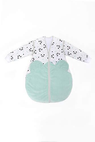 Linden 309117 Schlafsack 60 cm mit abnehmbaren Ärmeln Design Panda
