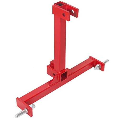 HECASA 3 Point 2 inch Trailer Hitch Receiver Drawbar for Category 1 Tractors
