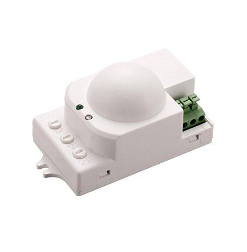 NEU Radar Hightech Bewegungsmelder mit Mikrowellen Radar Led Innen