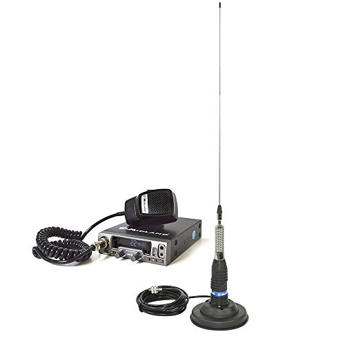 Radio CB midland m10 + Antena midland ml145 con Base magnética.