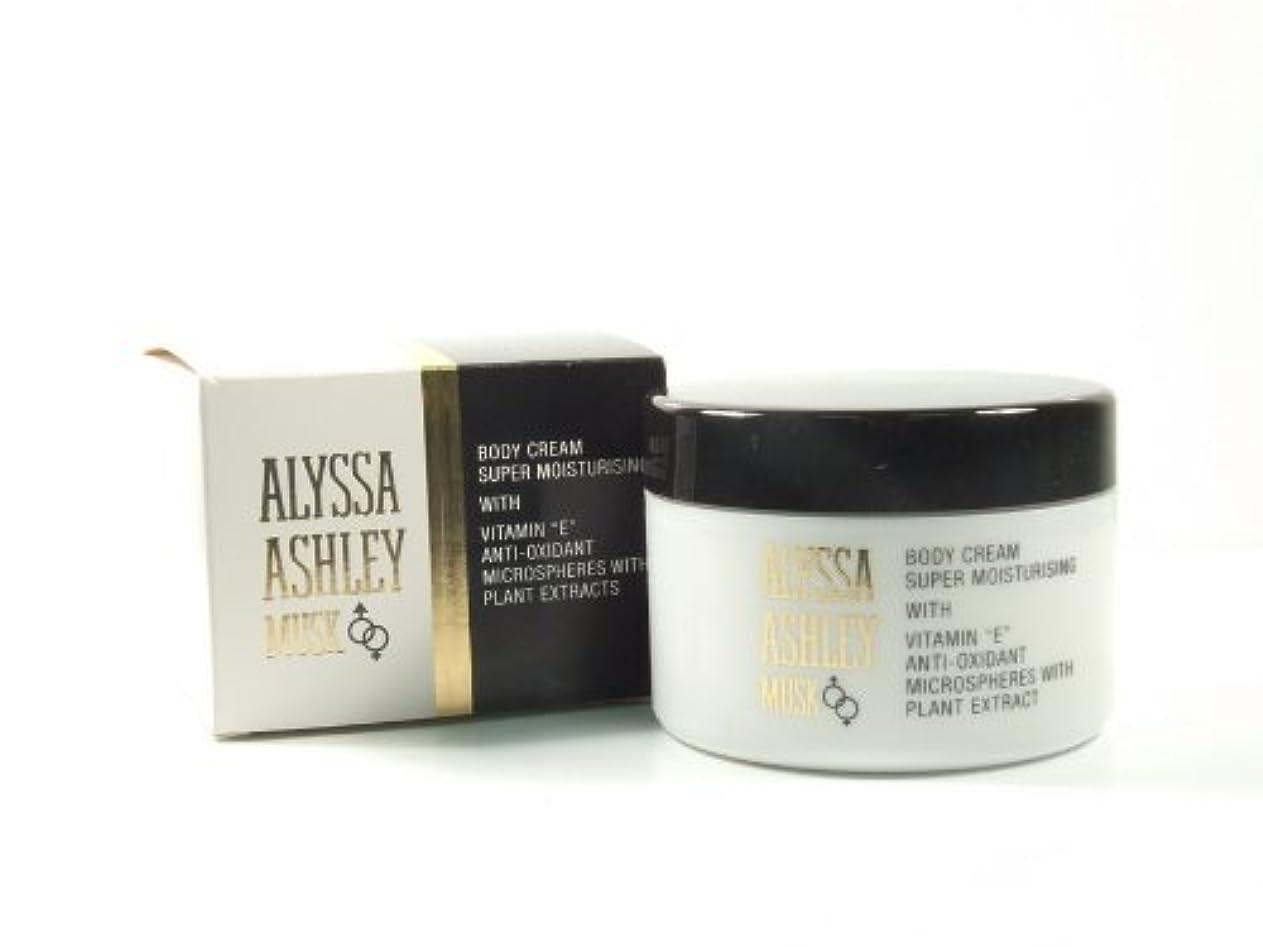 崇拝するに負けるダニAlyssa Ashley Musk Body Cream 250ml by Alyssa Ashley