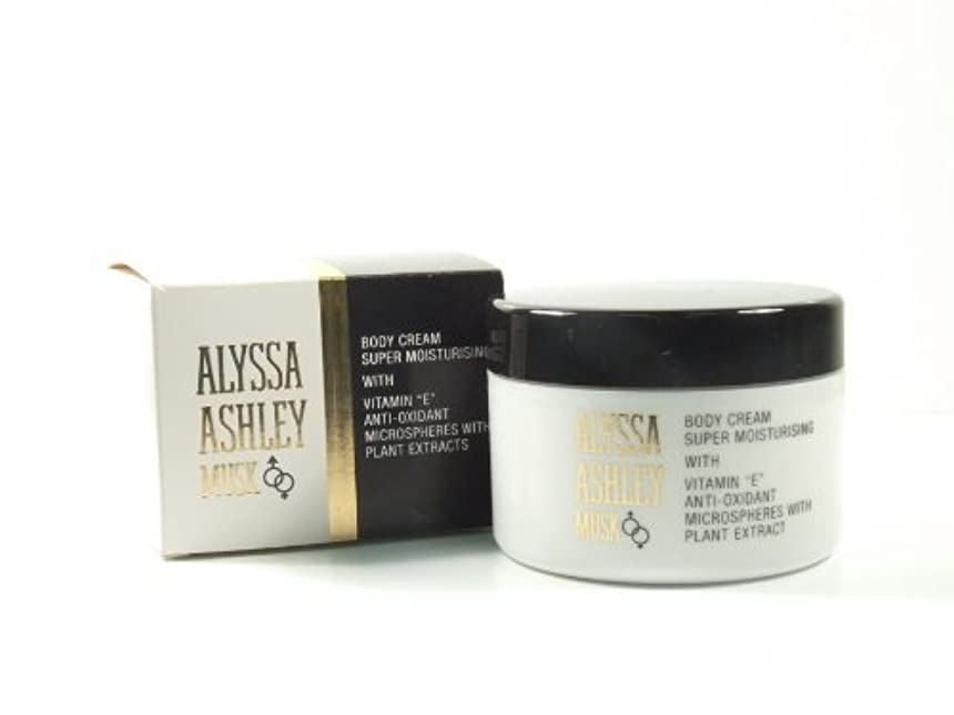 センチメートルたるみ属するAlyssa Ashley Musk Body Cream 250ml by Alyssa Ashley