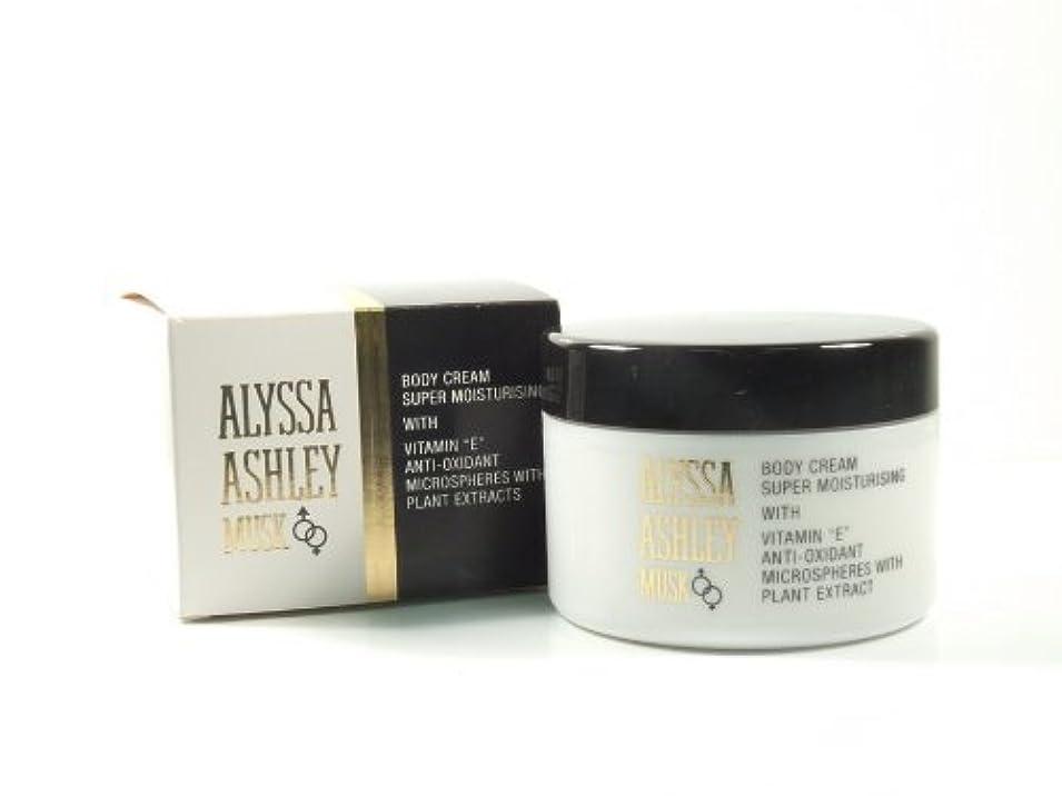 乱雑な敵感謝祭Alyssa Ashley Musk Body Cream 250ml by Alyssa Ashley