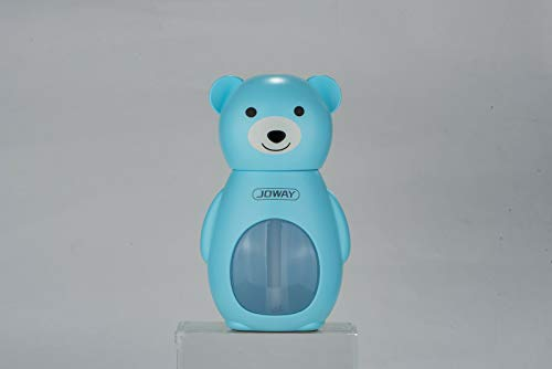 JOWAY Baby Bear Luchtzuiverer Luchtbevochtiger Hooikoorts Stofallergie Rook Geur Ionise Blauw