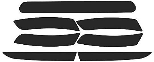 Precut Vinyl Tint Overlays for 2016-2018 Chevrolet Camaro Sidemarker, Reflector & Third Brake Light (20% Dark Smoke)