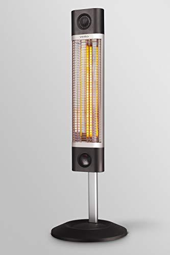 veito CH1800RE Infrarot Stand-Heizstrahler stufenlos höhenverstellbar Fernbedienung 4 Heizstufen Mobil 1700 Watt - 3