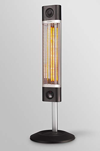 veito CH1800RE Infrarot Stand-Heizstrahler stufenlos höhenverstellbar Fernbedienung 4 Heizstufen Mobil 1700 Watt - 5