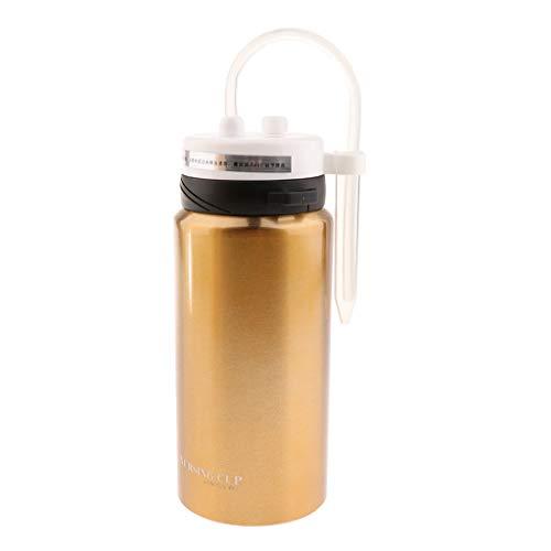 joyMerit Adult Sippy Cup für ältere Patienten, Bettlägerige Patienten, Behinderte Vakuumisolierte Thermalwasserflasche Aus Edelstahl - 600ml