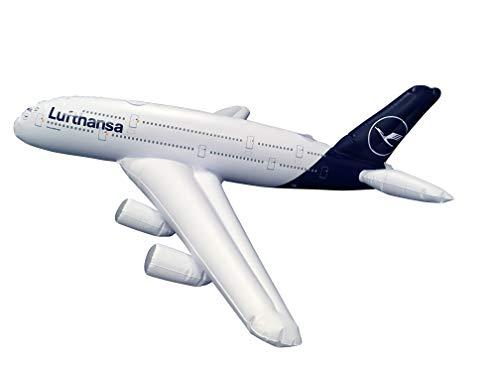 Limox Toys Aufblasbares Flugzeugmodell Airbus A380 Lufthansa Neue LACKIERUNG! A380 Lufthansa Inflatable Plane