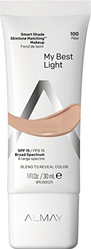 Almay Smart Shade Skintone Matching Makeup, My Best Light, 1oz $4.78 on Amazon