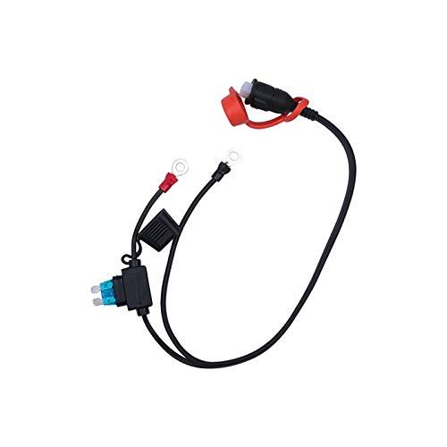 XIAOSHI Little Oriental Optimiertes Fahrrad TM71 Typ Ladegerät Ersatzleiter-2-Pin-Stecker wetterbeständiges Zubehör Hohe Qualität langlebige praktische l0418 (Color : Black)