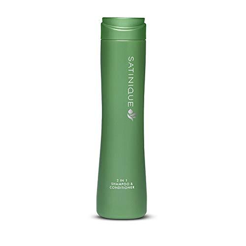Champú Acondicionador 2 en 1 SATINIQUE 280 ml. es perfecto para simplificar la rutina de cuidado del cabello: limpia y acondiciona en un solo paso. Para todo tipo de cabello