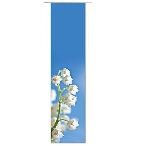 JEMIDI Flächenvorhang - Living- Schiebegardine Flächen Vorhang Raumtrenner Gardine Vorhang Schal (Design 72, Polyester)