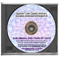 BMV Quantum Subliminal CD End Fear of Cats: Overcome Felinophobia (Ultrasonic...
