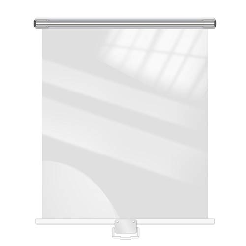 SSZY Estor Enrollable Persianas Enrollables Transparentes Impermeables para Congelador, Cortinas Enrollables de...