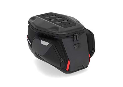 SW-MoTech Tankrucksack Motorrad Quick Lock Tanktasche Quick-Lock PRO Tankrucksack Trial 13-18 Liter Stauraum, Unisex, Multipurpose, Ganzjährig, Nylon, schwarz