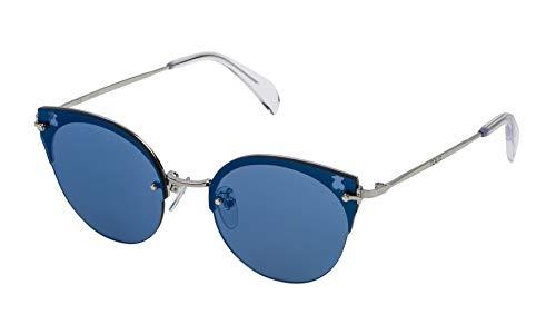 TOUS STOA09-56579B Gafas, Gris, 56/18/140 para Mujer