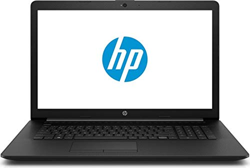 HP (17.3 Zoll HD Matt) Laptop (AMD Athlon 3050U DualCore, 8GB RAM, 512GB SSD, AMD Radeon Vega 8, Windows 10 Pro) Jet Black