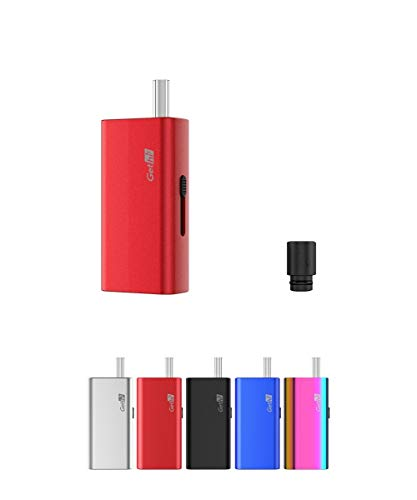電子タバコ 加熱式たばこ ヴェポライザー Airistech Gethi G6 葉タバコ シャグ Vaporizer ドライハーブタバコ エアリステック オマケ付き (レッド)