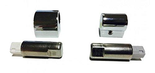 Roca AI0004100R-Kit Con Cerniera Coperchio Bidet R. Meridian-N Ricambio-Colleción Bagno-Tavolette E Coperchi Di