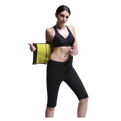 NOVECASA Faja Reductora Adelgazante Faja de Neopreno Cinturón de Sudor Ayuda a Reducir Cintura y Abdomen para Hombre y Mujer (XXL/XXXL, Cinturón de Fajas Reductoras)