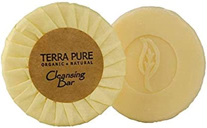 Terra Pure Bar Soap Travel Size Hotel Amenities 0 6 oz Pack of 400 product image