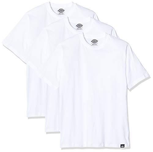 Dickies Herren Tsht Pk T-Shirt, Weiß (White Whx), Medium