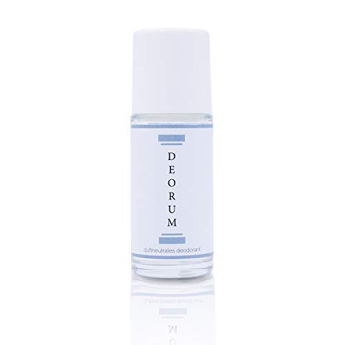 Deorum - Das dauerhafte Anti-Transpirant - geruchsneutrales Deodorant - veganes Deo - keine Deospuren/Verfärbungen - Anwendung alle 3-5 Tage - 1x 50ml Deo