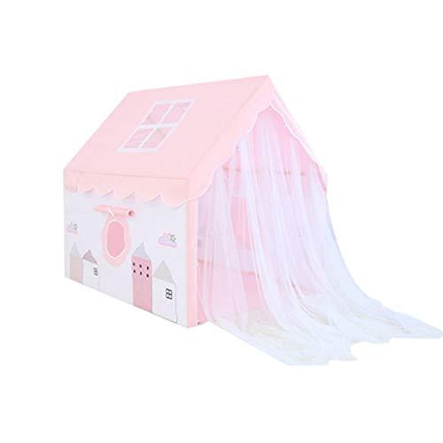 HWZPPP KJZhu Tiendas de campaña Carpa Plegable casa, de los niños Multifuncional Dollhouse - Rincón de Lectura - Dormir Tiendas - la Tiendas del Juego - 100 * 128 * 120 CM Tiendas iglú