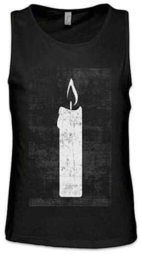 Urban Backwoods Tarot The White Candle Heren Tank Top Training Gym Shirt