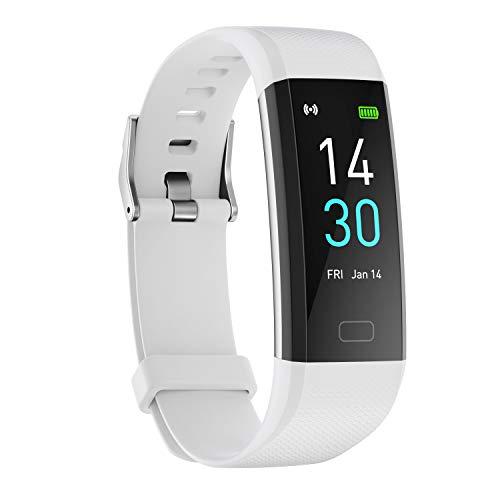 Amaxos Ax 52 Smartwatch con pressione sanguigna, ossigeno IP68, impermeabile, per fitness, frequenza cardiaca…