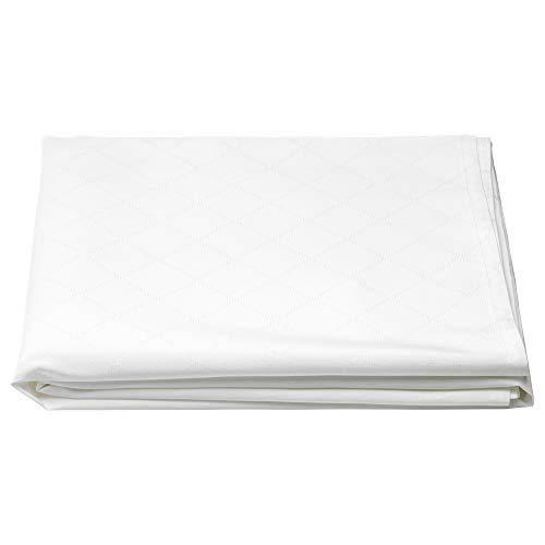 FULLKOMLIG Tischdecke 145x240 cm weiß