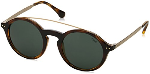 Ralph Lauren POLO 0PH4122 Gafas de sol, Dark Havana, 49 para Mujer