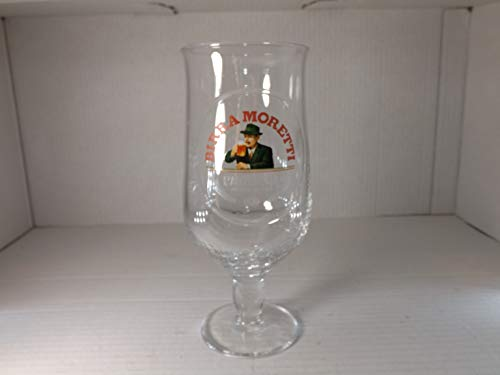 Tuff-Luv Birra Moretti Pint Chalice Glass / Beer Glass / Barware CE 473ml